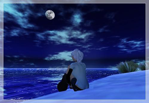 Blue Moon Gazing