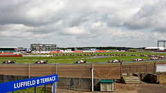 View from Luffield Terrace at Silverstone. (Patrick Mayon) Tags: race speed canon terrace multipleexposure silverstone endurance motorsport courage vitesse matmut continuousshooting luffield oreca trajectoire olivierpanis ef24105f4lisusm sportautomobile racingline eos40d sandiskextremeiii 65fps lemanssries