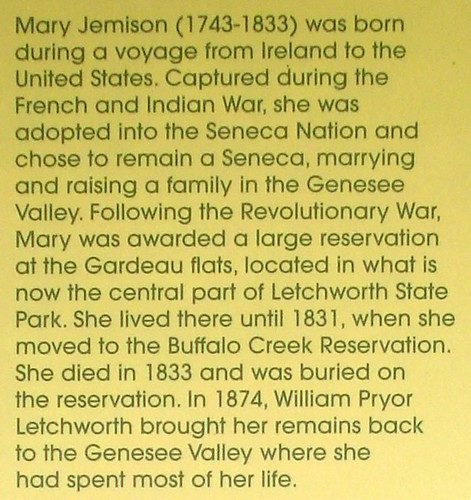 A biography of mary jemison the white woman of the genesee