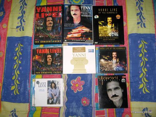 Yanni albums