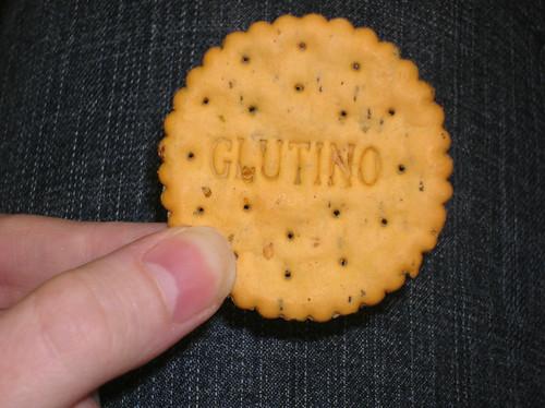 Glutino Veggie Crackers