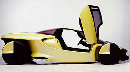Tenth futuristic car photo