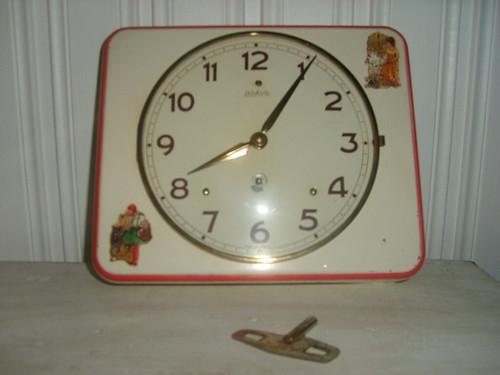 Flea market findings - 50´s children's clock by you.