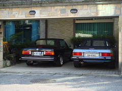 BMW E30 325IC/ Mercedes-benz R107 (yeh9289) Tags: mercedesbenz bmw e30 325ic r107