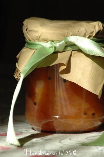 Peaches & Cardamom preserve...