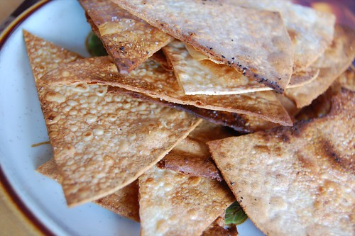 brown rice oven chips