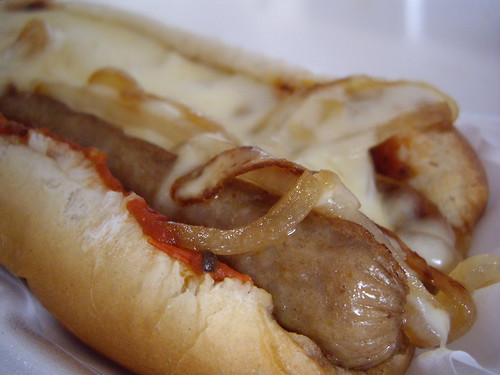 Italian Sausage Sandwich from Village Coney (Columbus, OH)