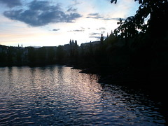 Sunset over Charles Bridge (James Nash (aka Cirrus)) Tags: bridge sunset clouds river prague charlesbridge vltava imagespace:hasdirection=false