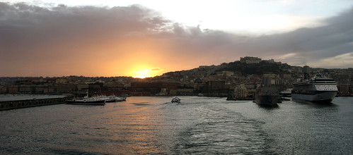 Naples sunset