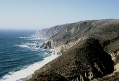 Point Reyes (Premshree Pillai) Tags: ocean california blue film water trek fuji pacific weekend slide roadtrip trail pacificocean pointreyes norcal fujichrome provia f5 e6 ptreyes nikonf5 provia400 fujichromeprovia400x