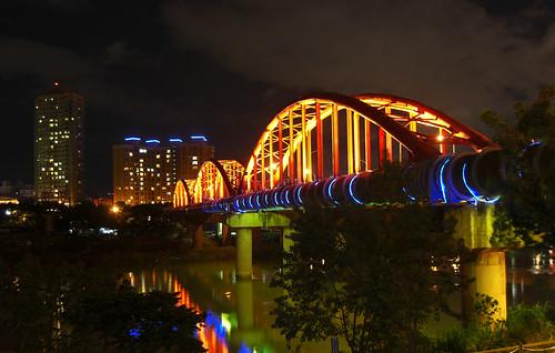 永福橋夜色