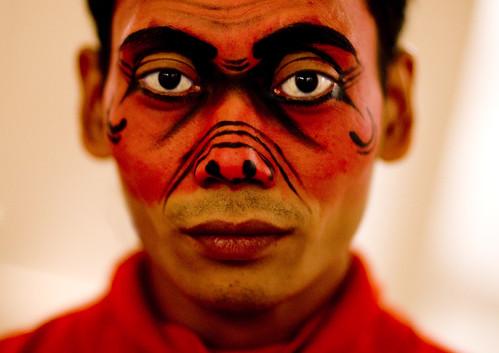 Java dancer make up