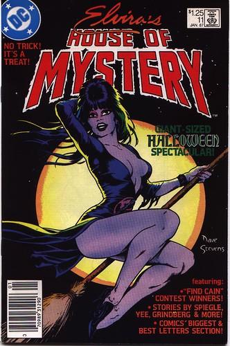 Elvira's House of Mystery #11 cover