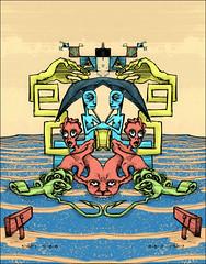 (psychonautfromatlantis) Tags: mirror artwork eyes vacant stare psychedelic maldives bait hooks visionary demons demented version2 headaches omararodriguezlopez psychonautfromatlantis absencemakestheheartgrowfungus