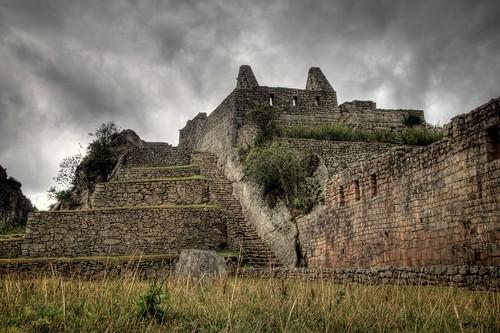 Inside Machu Picchu