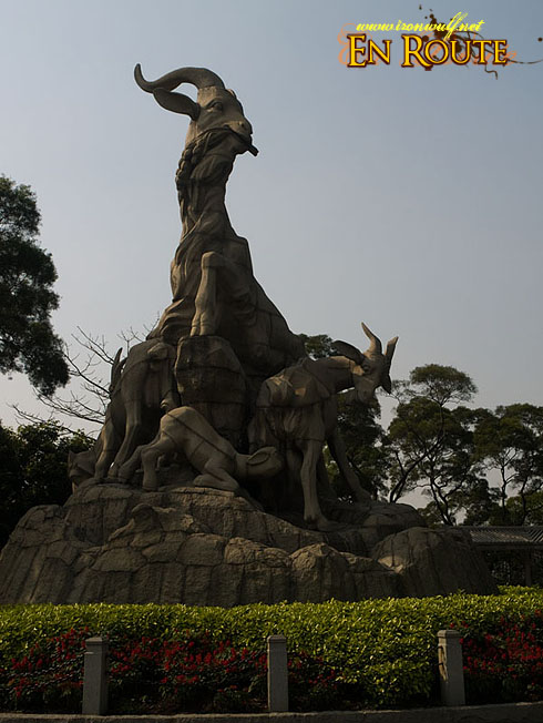 The Five-ram Statue – The Symbol of Guangzhou