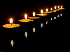 Flying candles