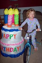 Amelias new bike