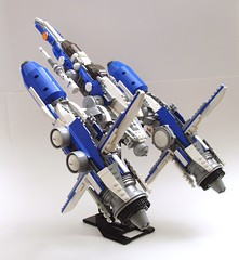 SF-1C Raven (peterlmorris) Tags: toy fighter lego moc starfighter afw foitsop hsttih macrofighter se1c