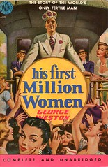 His First Million Women (Biff Bang Pow) Tags: vintage retro paperback pulp