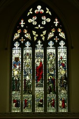 East window All Saints - Stretton-on-Dunsmore
