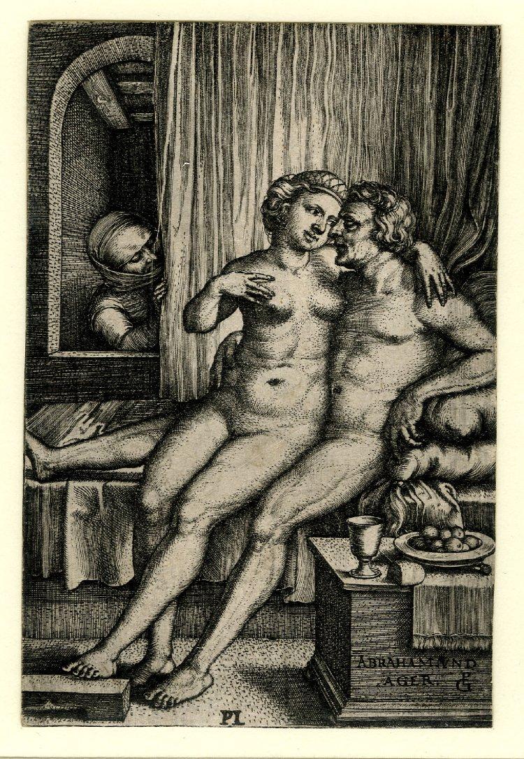 Старинная эротическая гравюра 6 фотография