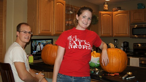Pumpkin carving 2008