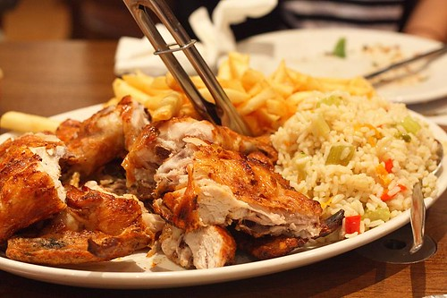 Traditional whole chicken $23.50
