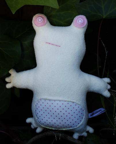 Albino Frog