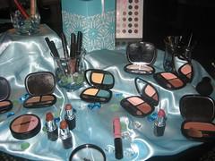 BeautiControl cosmetics display