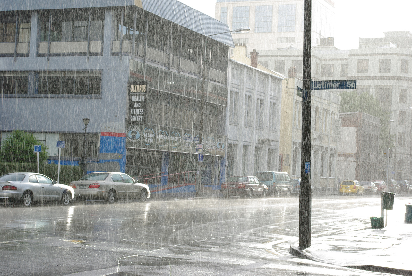 Rainy day in Christchurch