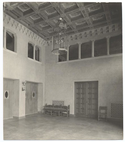 Figueroa Playhouse Lobby, c. 1925