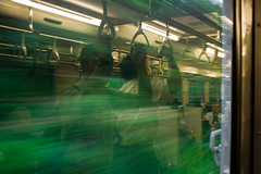 green movement (b_yosh) Tags: summer green festival japan train canon aomori matsuri yosh nebuta