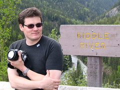 claudio at fiddle river