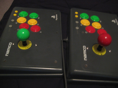 Namco Sanwa Flash1 Fighting sticks