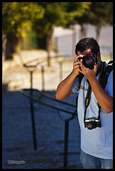 Ex aequo (Filipe Batista) Tags: autumn light portrait luz canon dof 85mm 40d filipebatista