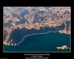 Lake Mead and Colorado River Bridge