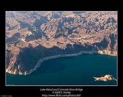Lake Mead and Colorado River Bridge