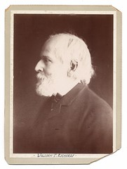 William Trost Richards (Smithsonian Institution) Tags: portrait blackandwhite bw white man shirt beard blackwhite historian coat profile oldman cardboard painter older sideview smithsonianinstitution profileportrait archivesofamericanart williamtrostrichards sidevei ch:person=18041943
