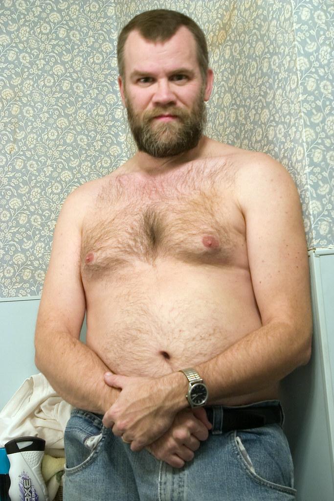 Hairy chubby guys