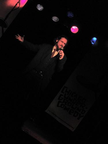 Adam Burke at Chicago Underground Comedy Dec. 9, 2008