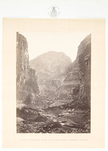 No. 3. Canon of Kanab Wash, Colorado River, looking south.
