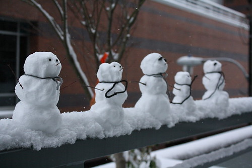 Snowmen don't need mouths