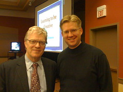 Sir Ken Robinson and Wesley Fryer