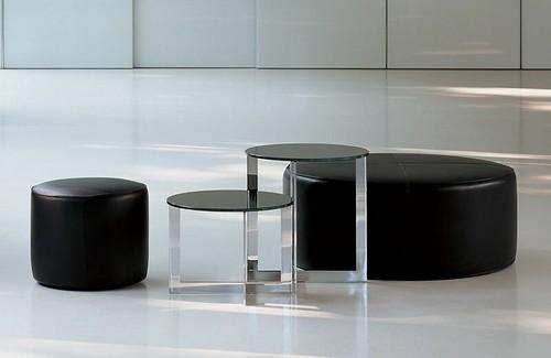 MOLTENI & CO - domino side table