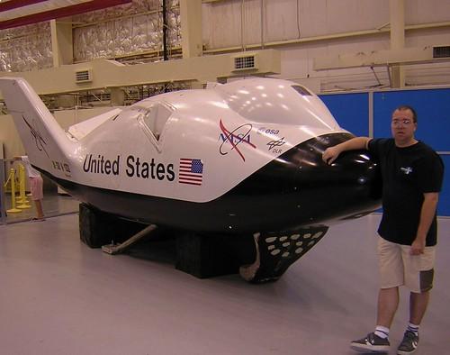 HOUSTON USA TRIP / NASA JOHNSON SPACE CENTER / X-38