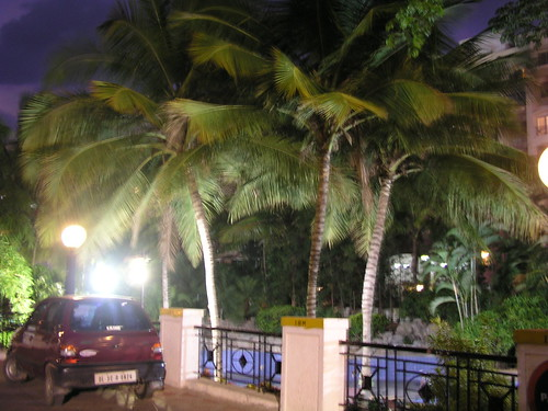 Swimming pool at night 1