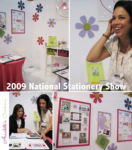Annabelle\'s Creations at the 2009 National Stationery Show