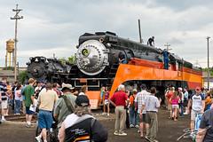Southern Pacific 4449 & Pere Marquette 1225