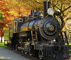 Old Number 6 (Marjanpoet) Tags: train river washington skagit northerncascades